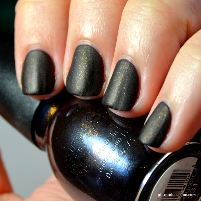 sinful colors leather loose, sinful colors leather loose nail swatch, sinful colors leather loose swatch