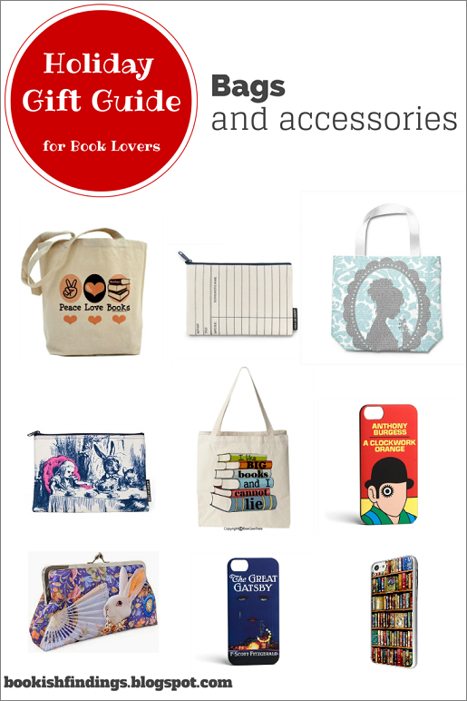 Holiday Gift Guide for Book Lovers - Bags and Accessories