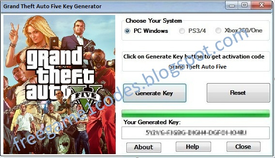 gta 5 activation code generator download