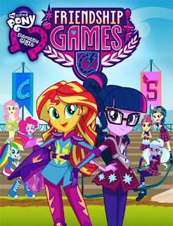 My Little Pony: Equestria Girls – Friendship Games (2015) [Vose]