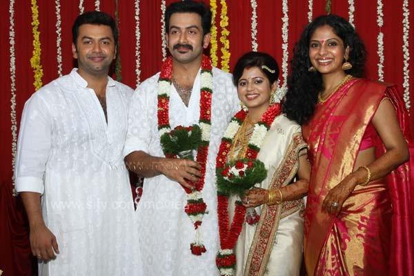 Prithviraj Wedding Marriage Photos Stills Exclusive Images Wallpapers