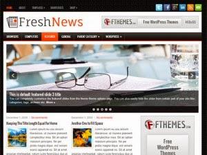 FreshNews - Free Wordpress Theme