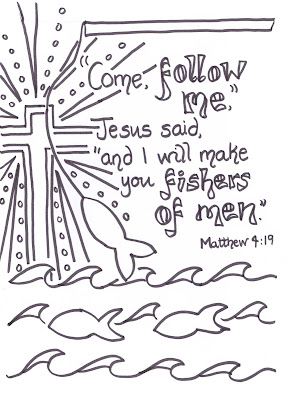 Flame Creative Children S Ministry Fishers Of Men Verse