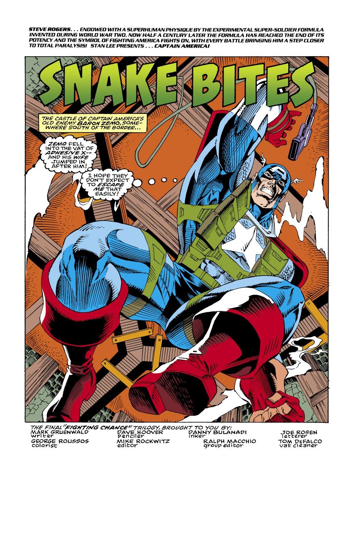 Captain America (1968) Issue #434 #384 - English 2