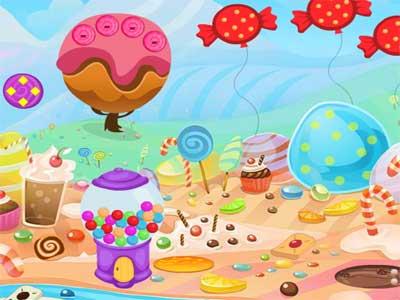 Juegos de Escape Candy Land Escape Guía