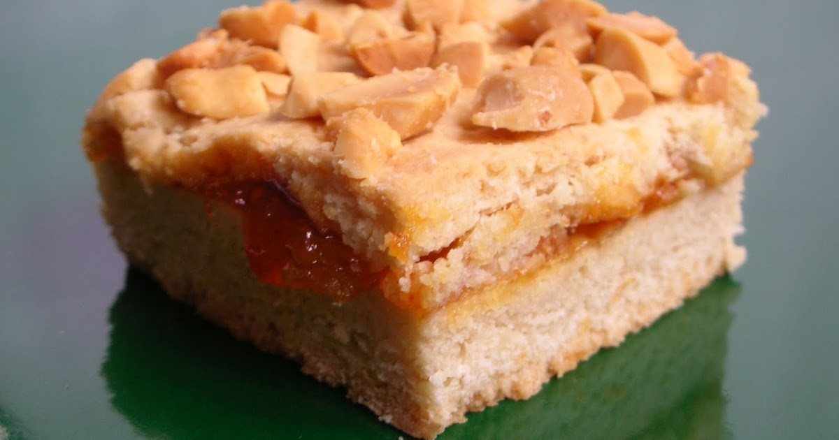 Easily Good Eats: Peanut Butter Mango Chutney (Jelly) Bar Recipe