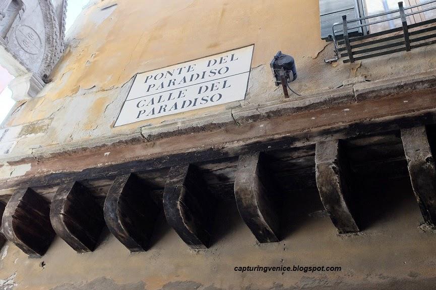 Calle del Paradiso, Venice capturingvenice.blogspot.com