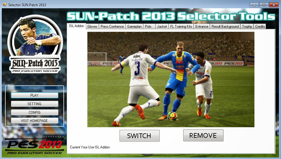SUN-Patch 2013 version 2.0