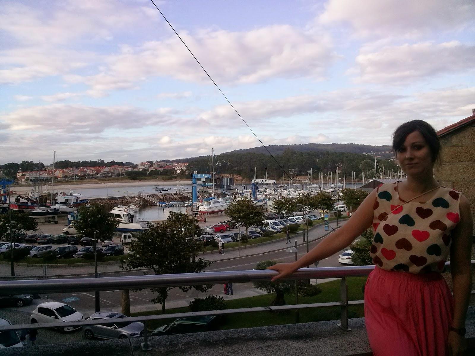 portonovo galicia puerto verano