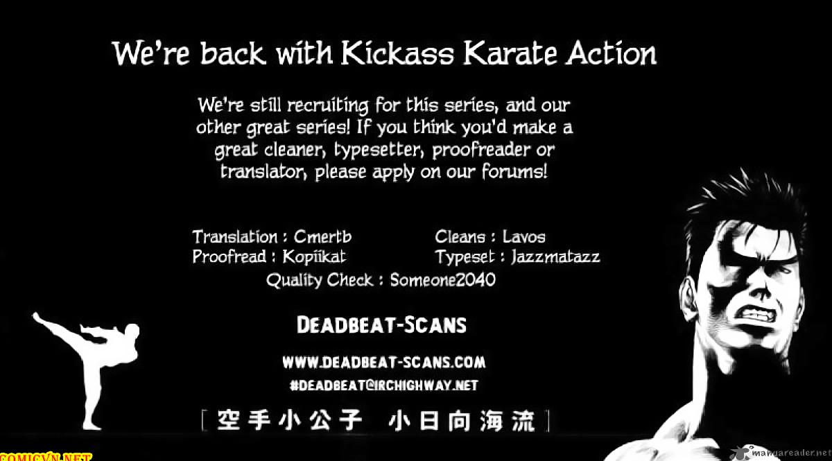 Karate Shoukoushi Kohinata Minoru chap 40 Trang 21