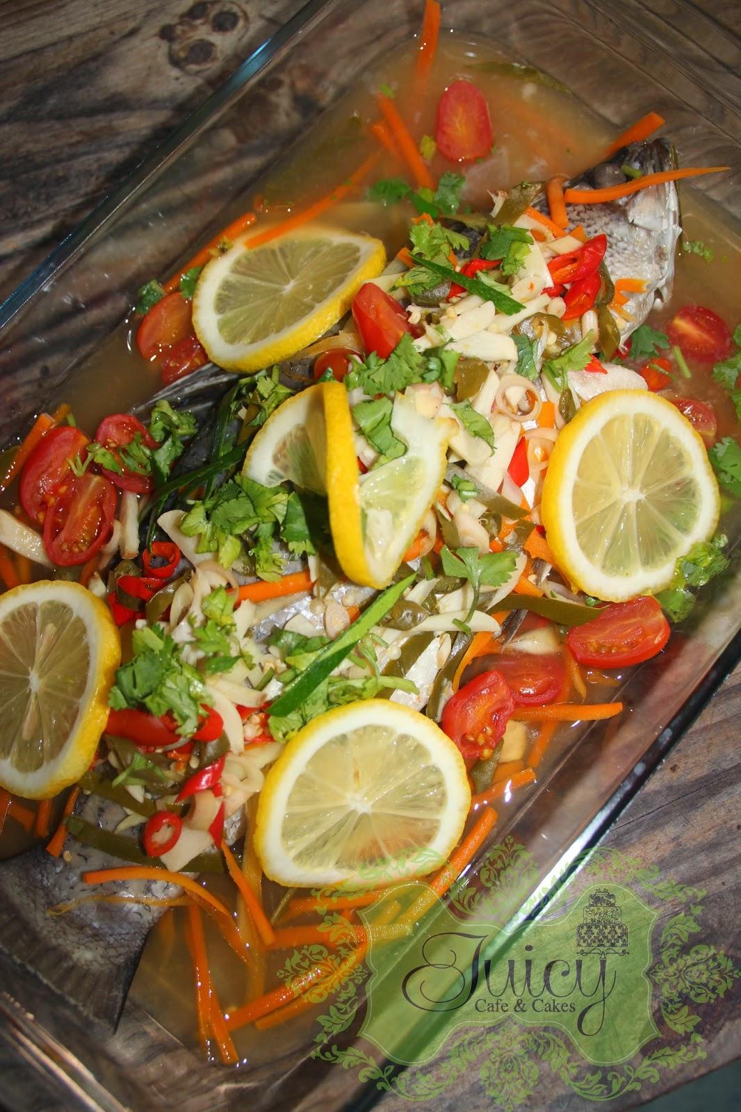 Moh Kite Resepi Ikan Siakap Stim Lemon