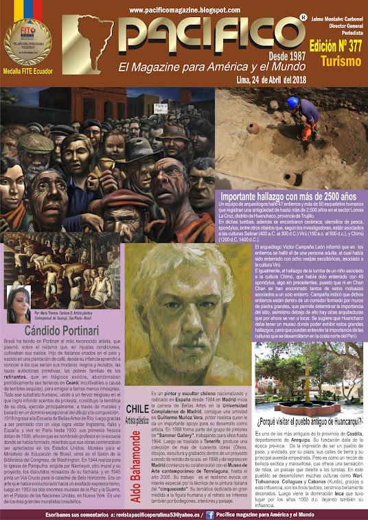 Revista Pacifico Nº 377 Turismo