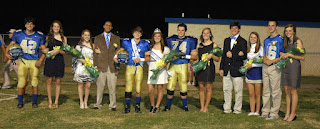 Montgomery Catholic Crowns 2011 Homecoming Queen & King 2
