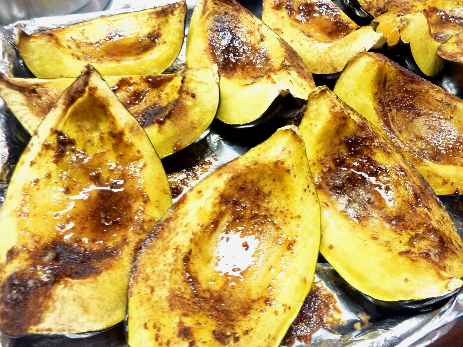 Dinner with Denise: Roasted Acorn Squash