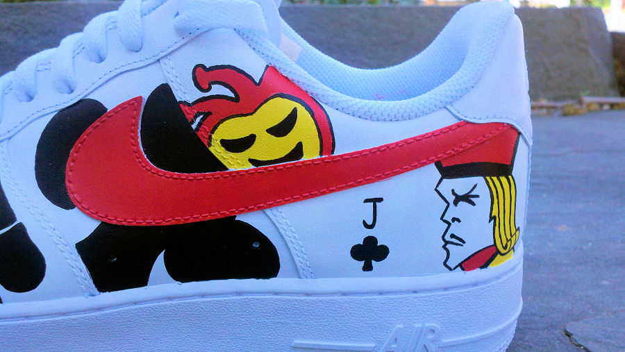 Poker Face Custom Air Force One Low