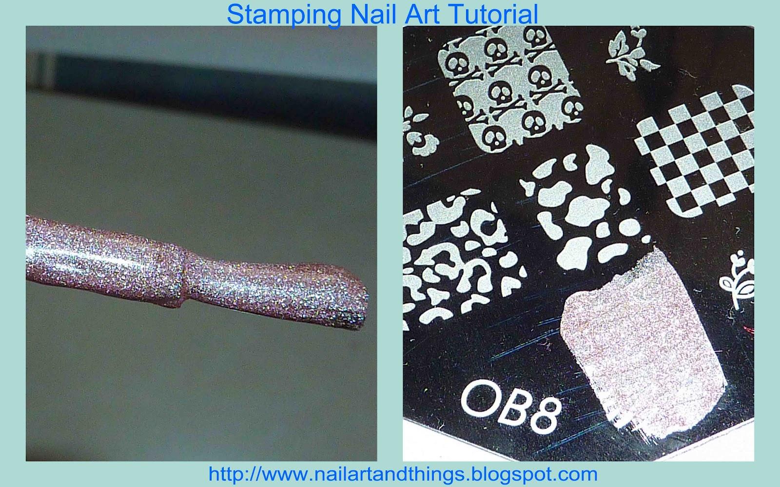 Nailart and things stamping nail art tutorial tips stamping nail art tutorial tips prinsesfo Gallery