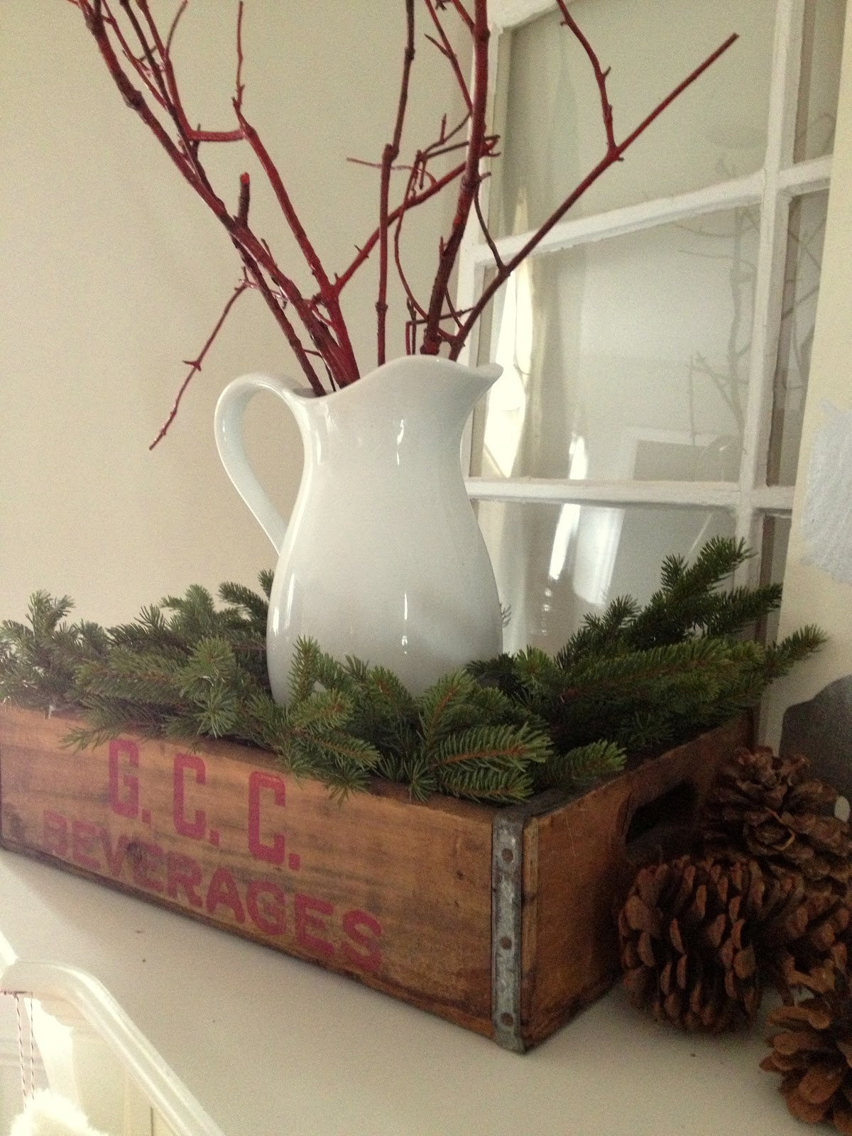 decorating addiction - Decorating Crates For Christmas
