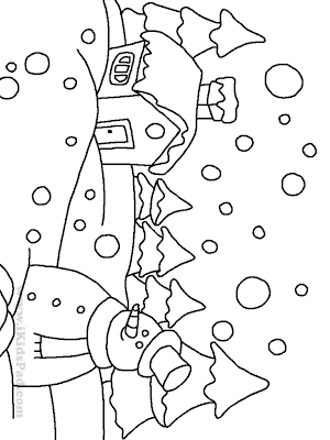 Blank Holiday Coloring Pages Colorings