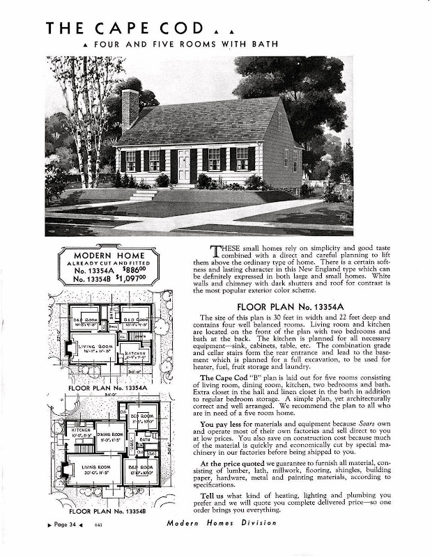 Over the years, Sears developed 447 different house designs according  title=