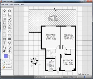 Free floor plan design software for Simple floor plan software