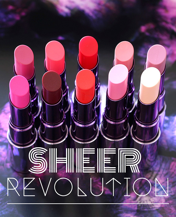 UD new Sheer Revolution Collection