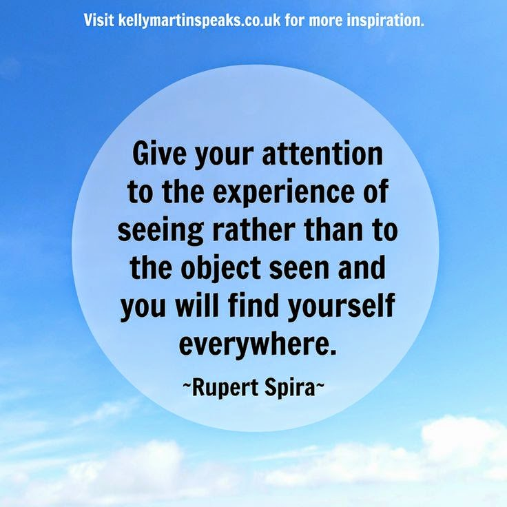 Attention Rupert Spira quote