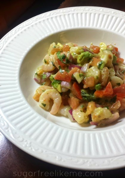 Quick and Easy Shrimp De Gallo Ceviche
