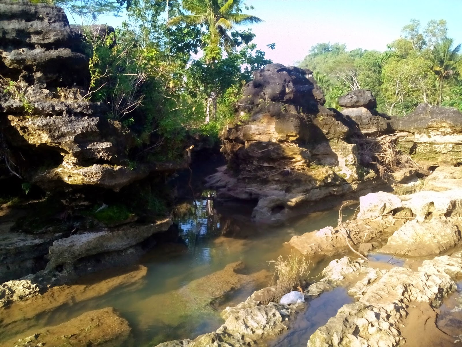 Landscape Sungai Pra Sejarah