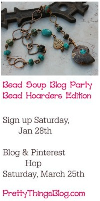 Bead Soup Blog Hop- Hoarders Edition