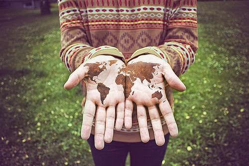 Der kürzeste Weg zu uns selbst führt einmal um die Welt!♥