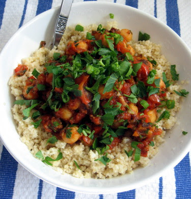 chickpea tomato couscous