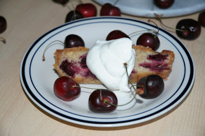Fresh Cherry Quick Bread by Bakewell Junction