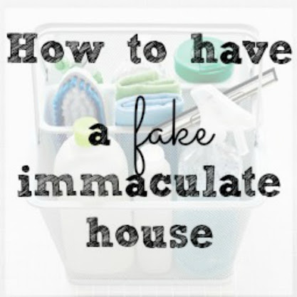 Want an Immaculate Home?