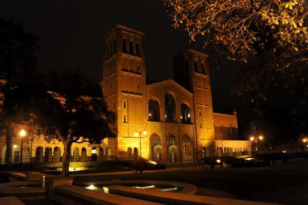 ucla campus at night - photo #2