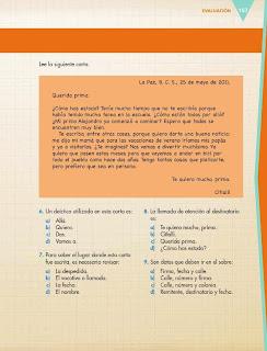 Apoyo Primaria Español 6to Grado Bloque IV Evaluación