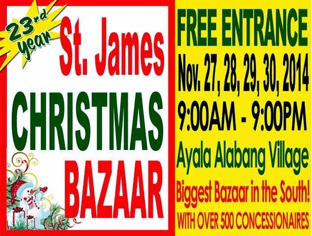 Shop at St. James Christmas Bazaar