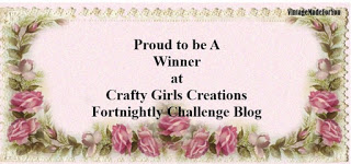 Crafty Girls Creations - Winner