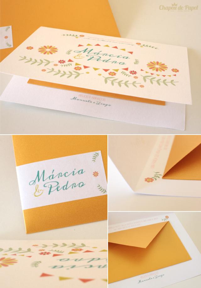 Postal Oferta Casamento