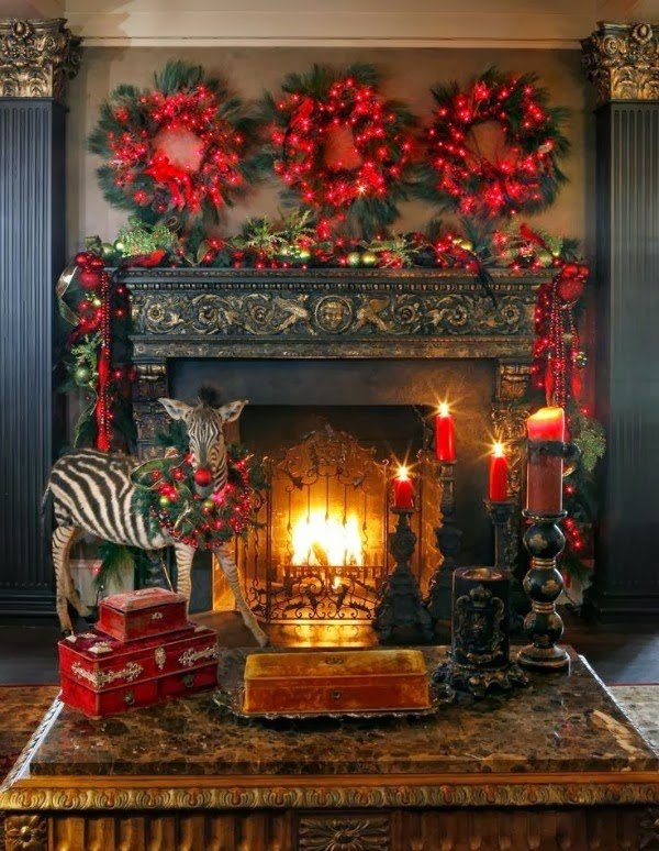 Christmas Decorations Fireplaces Sunny Days Starry Nights