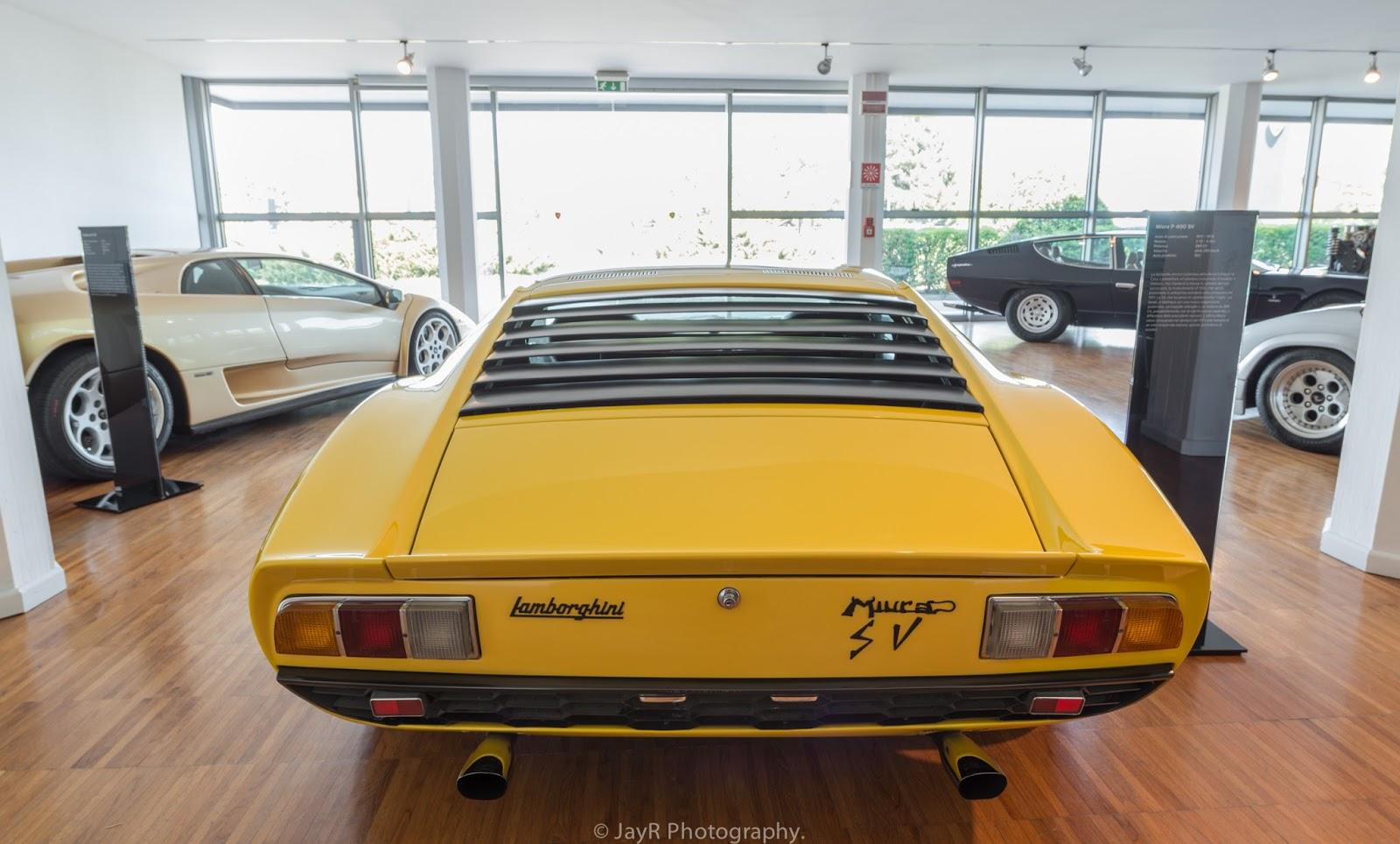 Lamborghiniu0027s First Super Veloce Car.