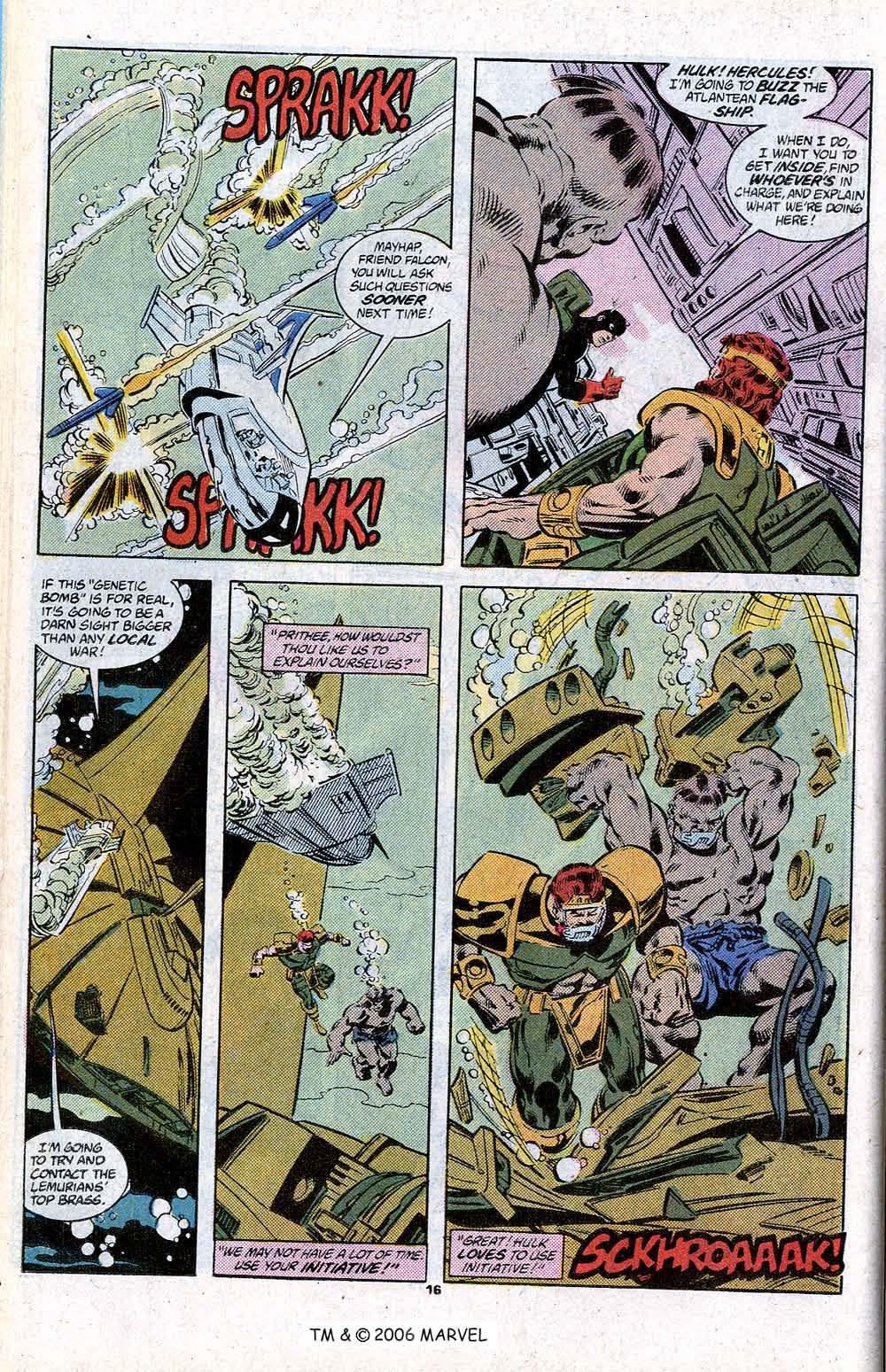 Captain America (1968) Issue #348c #280 - English 18