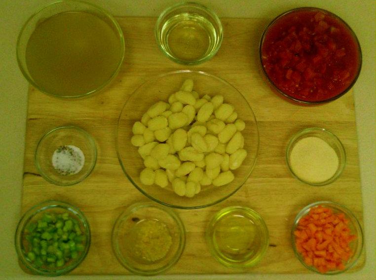 ... the Books: The Smitten Kitchen Cookbook -- Gnocchi in Tomato Broth