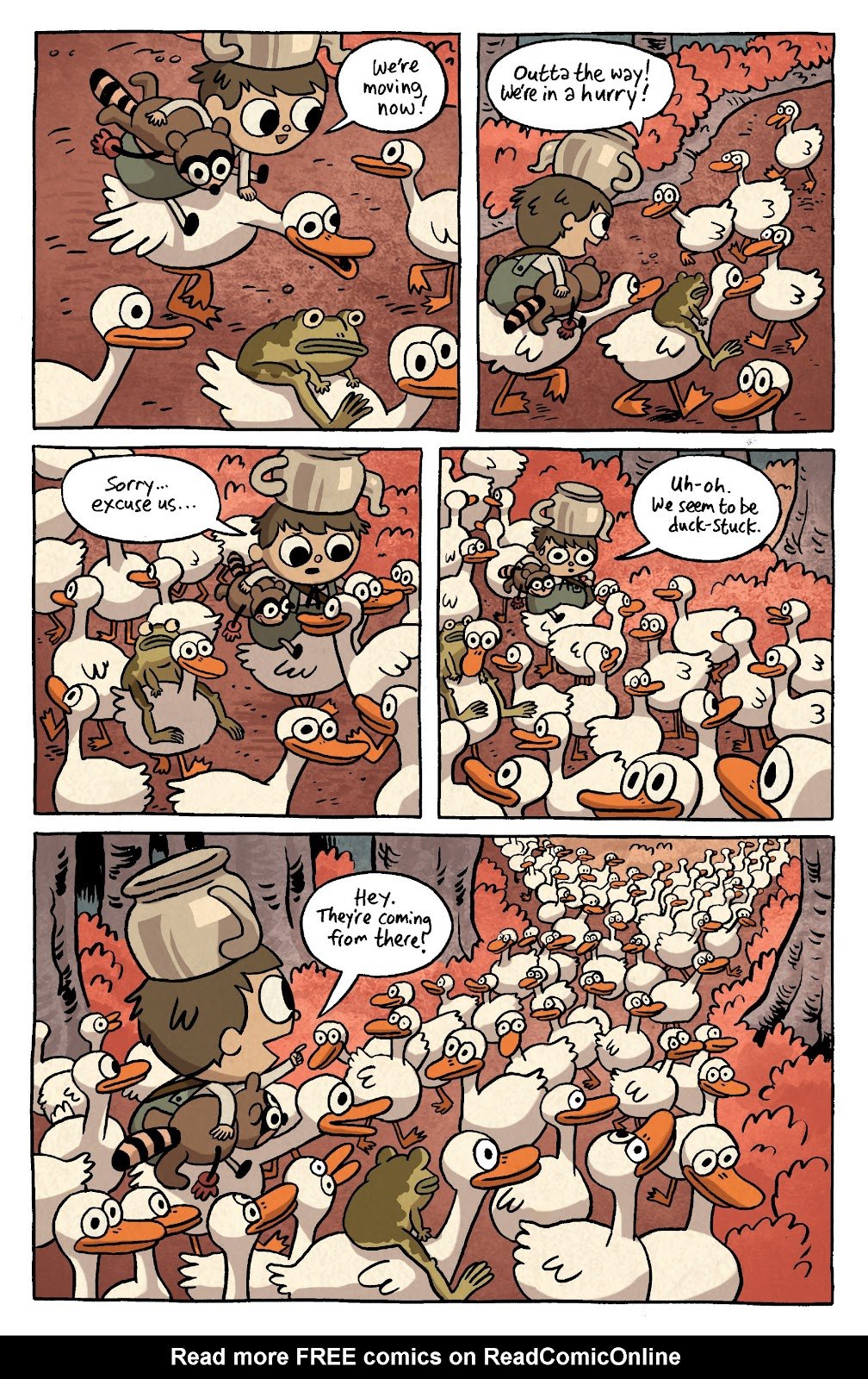 Over the Garden Wall (2016) Issue #3 #3 - English 6