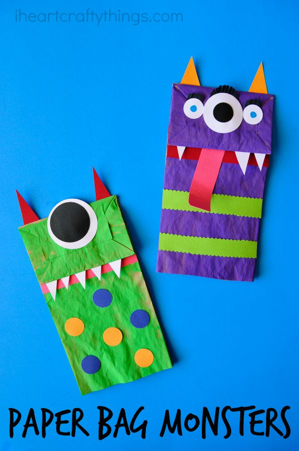 Paper Bag Craft Ideas For Kids Part - 30: I Heart Crafty Things