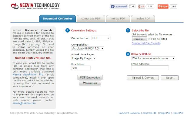 5 PDF Converter Online Tools - docupub