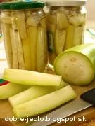 Zaváraná indická uhorka - recept