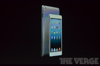 iPad Mini - imagem retirada do site The Verge