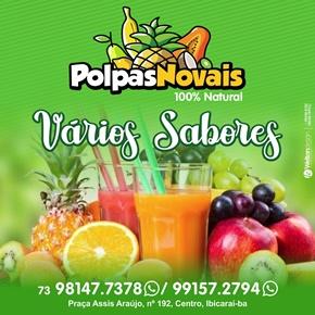 POLPAS DE FRUTAS NOVAES