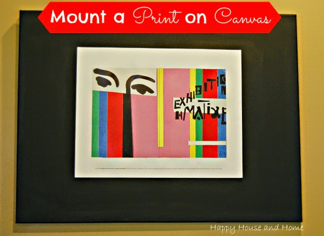 framing, DIY frame, DIY canvas, DIY wall art,