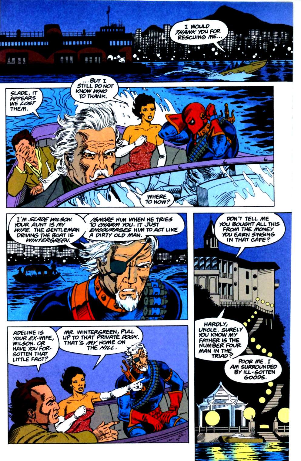 Deathstroke (1991) Issue #29 #34 - English 18
